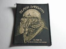 BLACK SABBATH U.S. TOUR '78 WOVEN PATCH