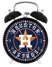 Houston Astros Alarm Desk Clock Home or Office Decor F72 Nice Gift