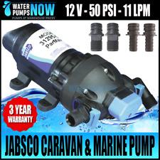 JABSCO Parmax 2.9 Water Pressure Pump 11 Litre 12volt J20-102 Caravan Boating