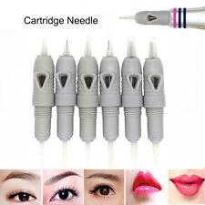 50pcs Disposable 8mm Screw Gray Tattoo Needles Cartridge For Charmant Machine