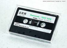 Panasonic/Technics qzzc-ACR Head azimuth 10khz - 20db test tape cassette Deck nos