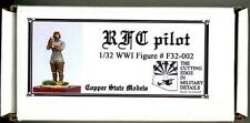 Copper State Models 1/32 ROYAL FLYING CORPS WWI PILOT, STANDING Resin Kit