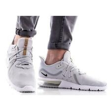 c728d8ee8375 Nike Air Max Sequent 3 Mens Running Shoe (Size 8 - 14) Platinum White