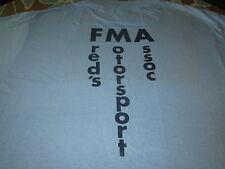 Freds Motorsport Association Vintage 1970S Mx Tee Shirt Motocross Race
