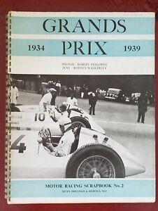 GRANDS PRIX 1934-1939 Motor Racing Scrapbook No. 2