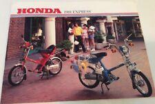 1981 EXPRESS Honda Original Sales Brochure  Scooter Moped Motorcycle