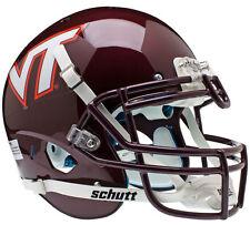 VIRGINIA TECH HOKIES SCHUTT XP NCAA AUTHENTIC FOOTBALL HELMET