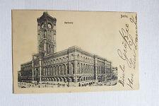 Antique RATHAUS Berlin Germany Postcard