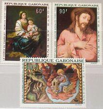 GABON GABUN 1968 301-03 C64-66 Paintings Gemälde Art Kunst spanischer Maler MNH