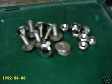 Stainless Steel Beetle Blade Bumper Bolts