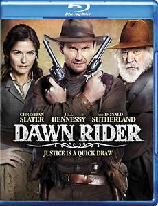 Dawn Rider Blu-ray Brand New Sealed Christian Slater, Donald Sutherland Sealed