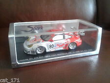 *NEW* SPARK PORSCHE 911 (996) GT3 RSR FLYING LIZARD #80 LE MANS 24HR 2005 1/43
