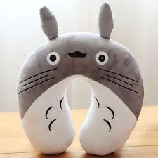 plush toy cartoon Totoro neck protect pillow U-shaped nap pillow birthday gift