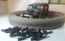Land Rover Serie 2 3 ligero Sombrero resto Tiras 335379 & 15 Clips 300824
