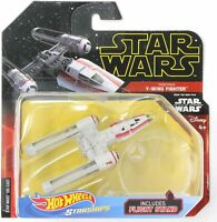 Hot Wheels Star Wars Starships Resistance Y-Wing Fighter Red Rise of Skywalker