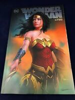 Wonder Woman 750 Shannon Maer Exclusive comic Ltd To 750 W/ COA of BW Sketch NM+