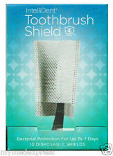 Intellident Antimicrobial Toothbrush Shields 10ct 854431003006DT