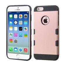 Fundas y carcasas Para iPhone 6s de plástico de color principal negro para teléfonos móviles y PDAs