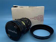 Minolta MD Zoom Rokkor-X 24-50mm 1:4