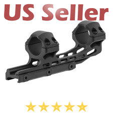 """UTG Leapers ACCU-SYNC 1"""" High Profile 50mm Offset Picatinny Rifle Scope Rings"""
