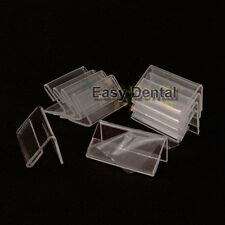 30pcs Small Sign Display Holder Price Tag Label Stand Case 4cmx2cm