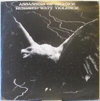 HAWKWIND Tribute—Assassins Of Silence: Hundred-Watt Violence 2-LP Ltd. #'d Ed.
