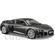 Maisto Audi R8 V10 Plus 1:24 Diecast Model Car 34513 Grey
