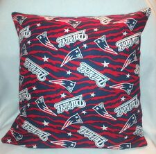 """14"""" NEW ENGLAND PATRIOTS NLF FOOTBALL ACCENT PILLOW SHAM COVER"""