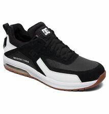 Tg 42 - Scarpe Uomo Skate DC Vandium SE Nero Black White Sneakers Schuhe 2019