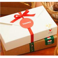 Christmas Cook Packaging Carton Cowboy Cookie Box Simple envelope package Nice
