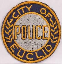 "3"" Shoulder Patch Euclid City Ohio Police Department Law Enforcement Officer LEO"