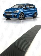 2014Up BMW 2 Series Gran Tourer F46 Carbon Rear Bumper Protector Guard S.Steel