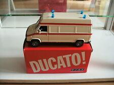 NZg Fiat Ducato Ambulance in White on 1:43 in Box