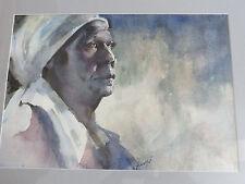 """Beauty!Listed S.CARLOINA Virginia Fouche Bolton (1929-2004) W/C 20""""X17"""" framed"""