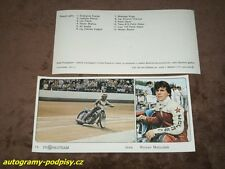 Roman MATOUSEK - Jawa Speedway, cca (1987) CZE Propagteam card 10x21, super RAR!