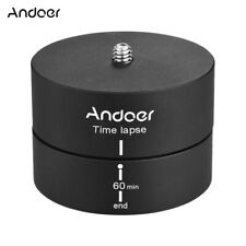 Andoer 360 Degrees Panning Rotating Time Lapse Stabilizer Tripod Adapter O6X7