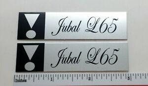 JBL Jubal L65 Speaker Badge Logo Emblem Pair