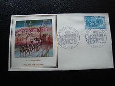 FRANCE - pli 1er jour (thiaude) 24/3/1973 (journee du timbre) (cy9) french