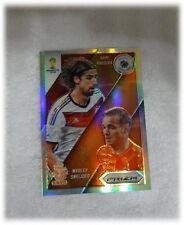 2014 Panini Prizm World Cup Refractor Matchups Sami Khedira / Wesley Sneijder 27