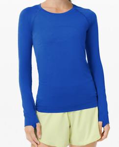 Lululemon Swiftly Blue Shirt NWT Size 6