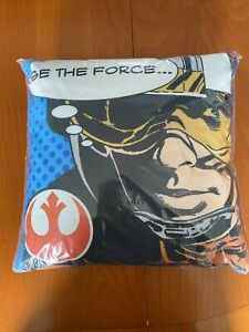 Star Wars Cushion Darth Vader Luke Sky Walker Canvas Pillow Kids Force Awakens