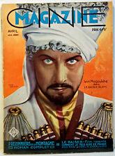 "RARE REVUE CINEMA - 04 / 1930 - N°4 - "" CINEMAGAZINE ""  - 98 PAGES"