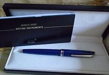 PEN MONTBLANC ROLL TIP PEN . (Blue) ABSOLUTELY BEAUTIFUL £50 0FF SPECIAL