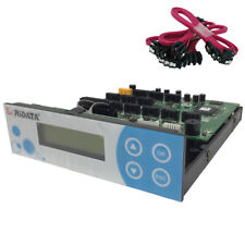Ridata SATA CD/DVD/Blu Ray Duplicator Controller Card 1-11 multi burner + cables