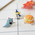 Halloween Icon Mini Witch Ghost Pumpkin Costume Badge Brooch Pin Hallowmas Party
