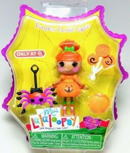 Mini Lalaloopsy Figure Doll Pumpkin Candle Light Exclusive Halloween Girls Toys