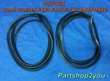 Toyota Land Cruiser FJ40 FJ45 BJ42-45 door weather strip rubber seal SET L&R