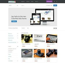 Classified Ads website responsive design wordpress site