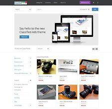 Classified Ads website responsive design wordpress site