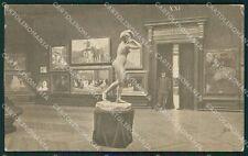 Venezia Città Esposizione Sala Spagnola cartolina XB0287